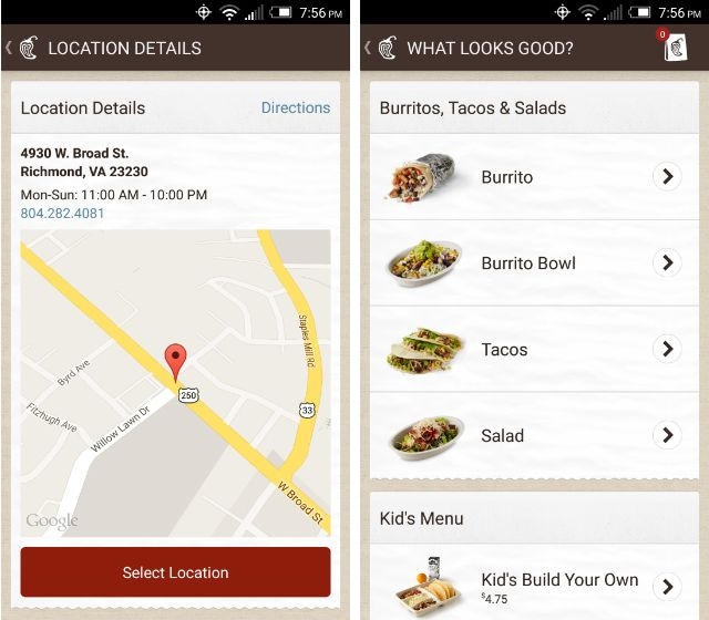 AndroidRestaurants-Chipotle