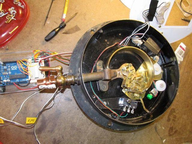 de vapor de calibre-componentes