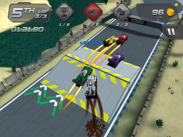 Lego Champions velocidad