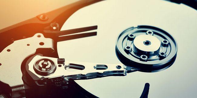unidad de disco duro-internals-Close-up