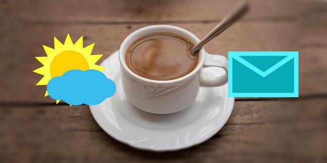 7 Notificadores simples firefox para el correo, el clima y el tiempo de descanso