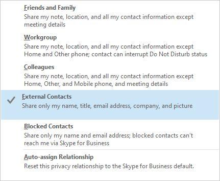 Relación de negocios de Skype
