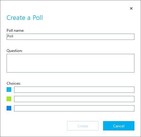 Skype encuesta de negocios