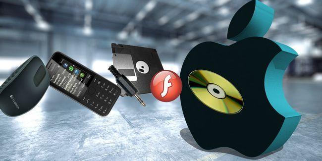 7 Tecnologías de manzana rechazados para hacer del mundo un lugar mejor