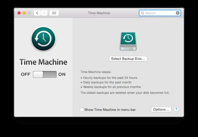máquina del tiempo