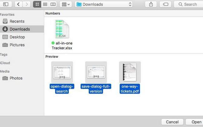 seleccionar varios archivos