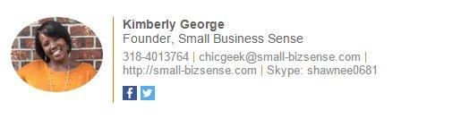 correo electrónico de firma ejemplo