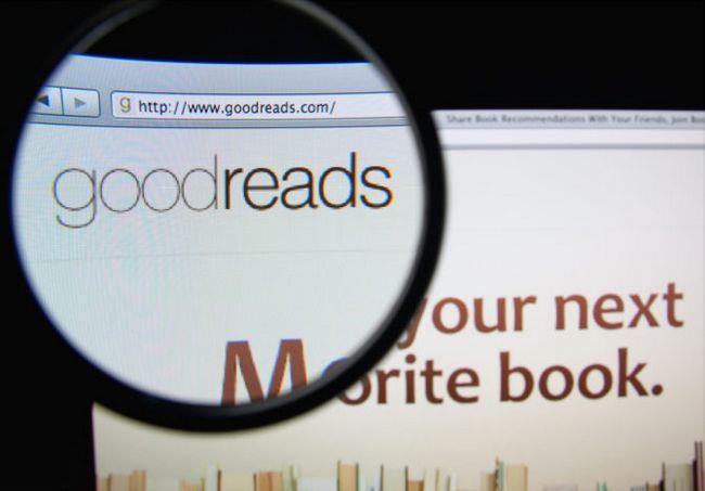 sitio de Goodreads
