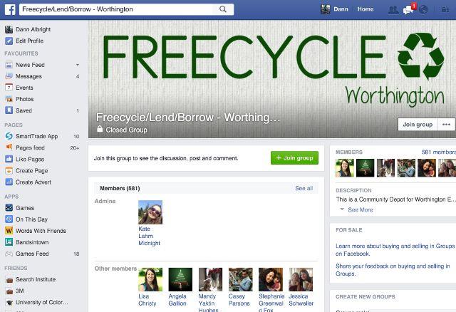 freecycle-Worthington