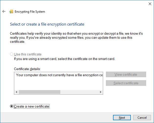 Sistema de cifrado de archivos