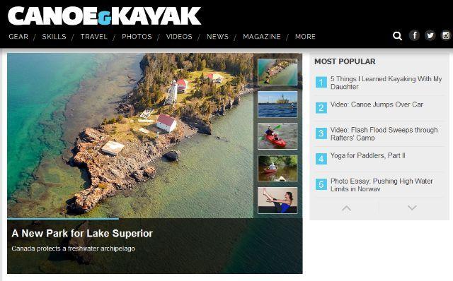 canoa y kayak sitio