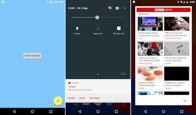 Android App Turrón Quidgets