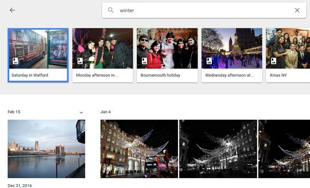 Google vez buscar fotos