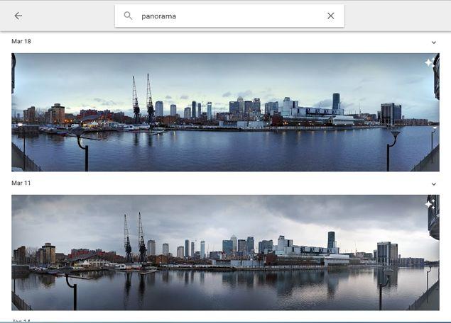 Google Tipo de fotos búsqueda de archivos