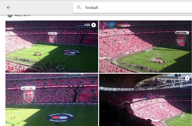 evento de Google buscar fotos