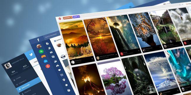 8 Frescos extensiones para cambiar el diseño de facebook, twitter y pinterest