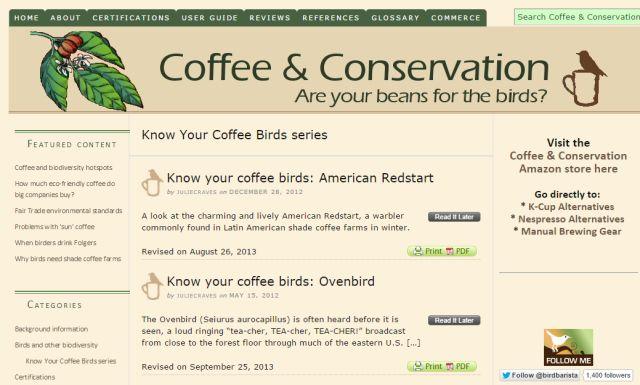 café-conservación