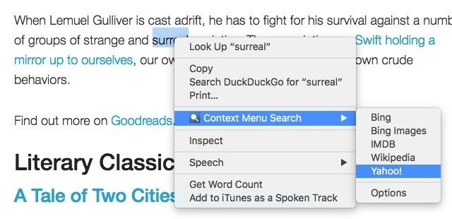 cromo-contexto-menú de búsqueda