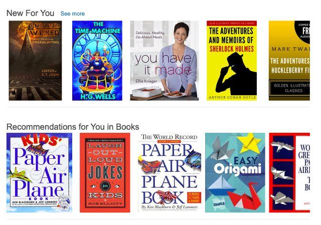 Amazon recomendaciones