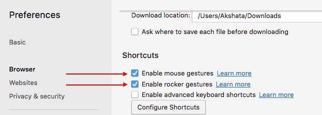 ópera-enable-ratón-gestos