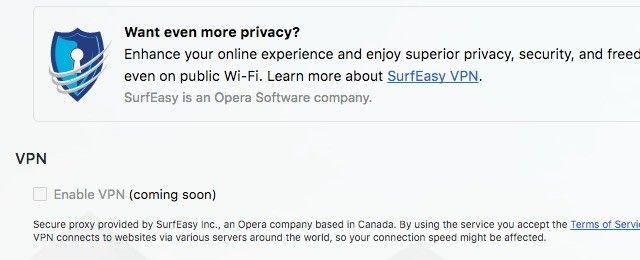 ópera-VPN