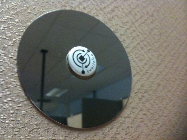 discos duros espejo cubículo