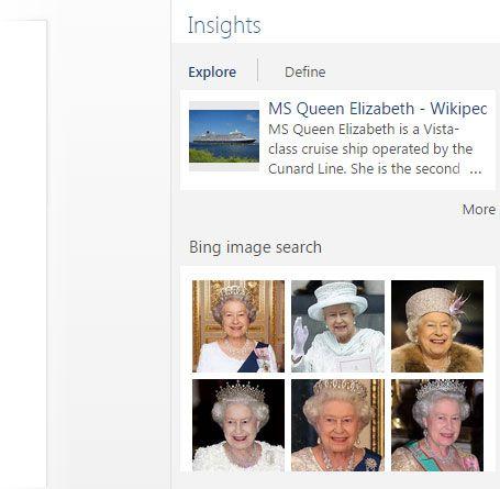 Insights con Bing