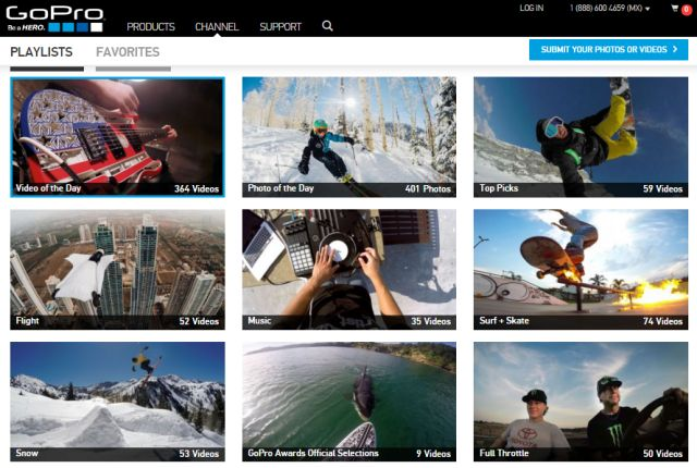 gopro canales