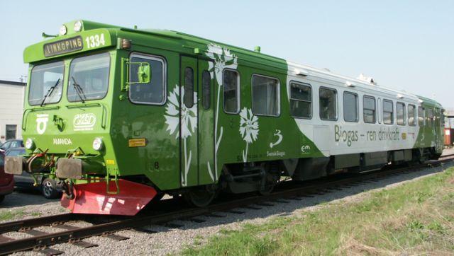 El biogás tren