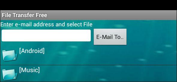 transferencia de archivos para Android
