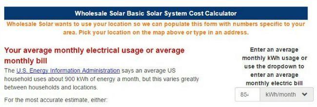 calculadora solar al por mayor