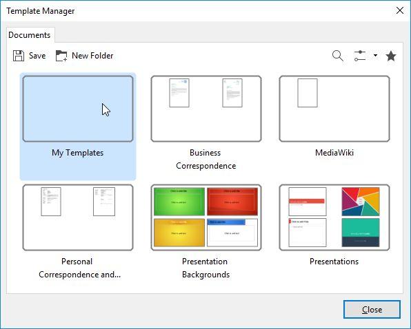 personalizados-plantillas LibreOffice de punta