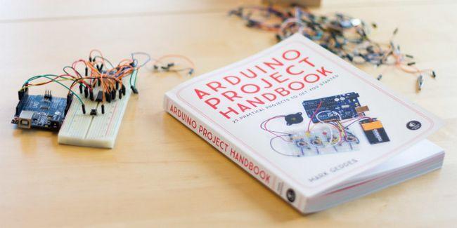 libro del proyecto Arduino contó