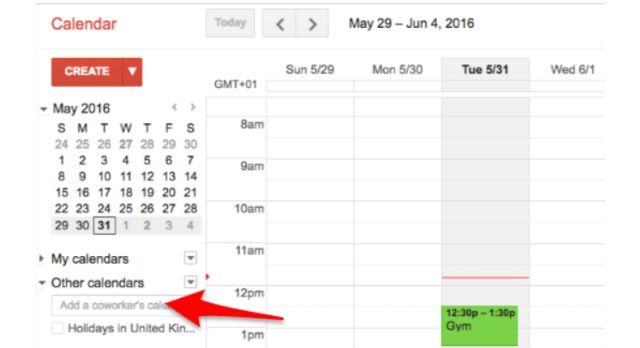 Google Calendar en capas calendarios