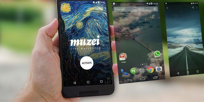 9 Grandes aplicaciones que cambiarán fondo de pantalla de su teléfono inteligente android