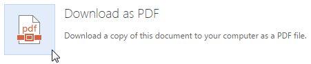 Oficina Guardar como PDF Online