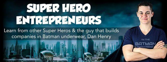 empresarios de superhéroes