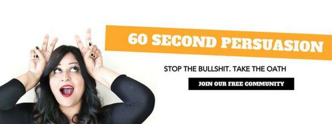 60 segundos persuasión