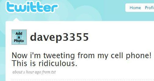 9 Maneras de usar twitter - no tiene sitio necesario