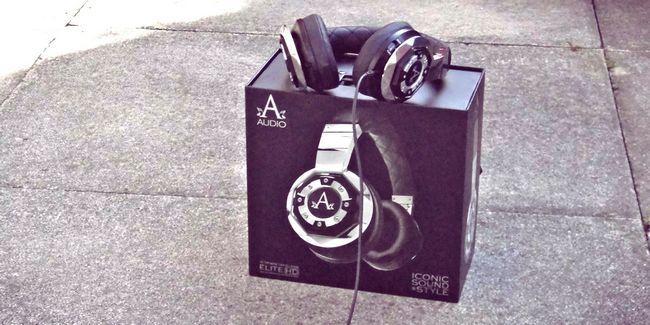 A-auriculares de audio heredados revisión y regalo