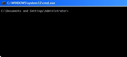guiar a los comandos de Windows
