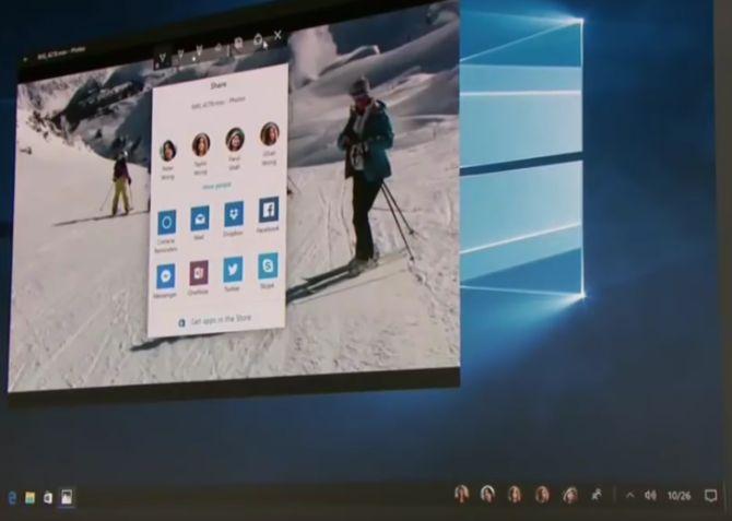 Windows 10 Creadores de actualización Las personas Bandeja de entrada