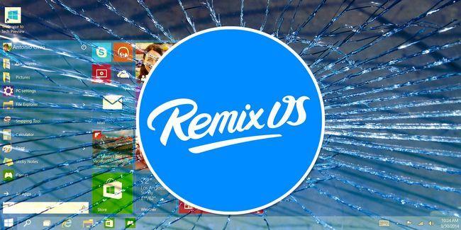 Una alternativa real, basado en android a windows: os 2.0 remezcla