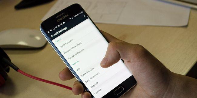 De acceso oculta la configuración de android con la configuración de la aplicación google
