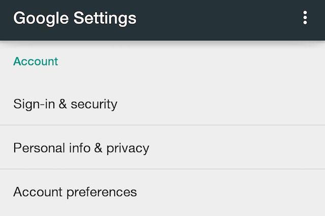 Google-Configuración-Cuenta