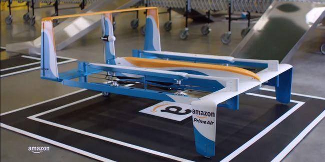 Amazon se burla de las entregas de aviones no tripulados, suecia salva la bahía del pirata ... [Compendio de noticias de tecnología]