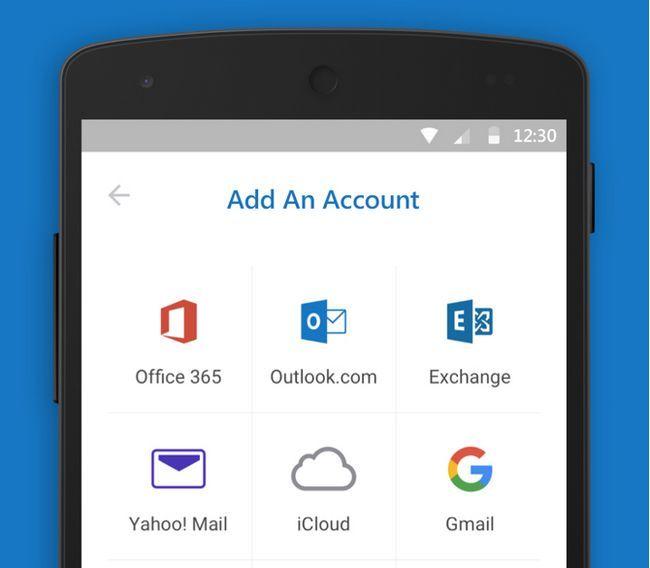 la batería androide Microsoft Outlook