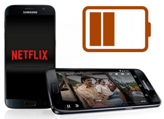 Netflix batería androide