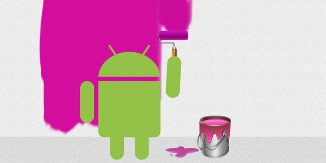 Android barra de navegación de turrón y más: tratar estos temas capas rro