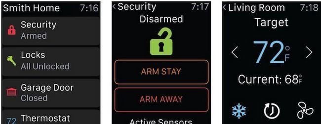 Alarm.com Smart Android reloj